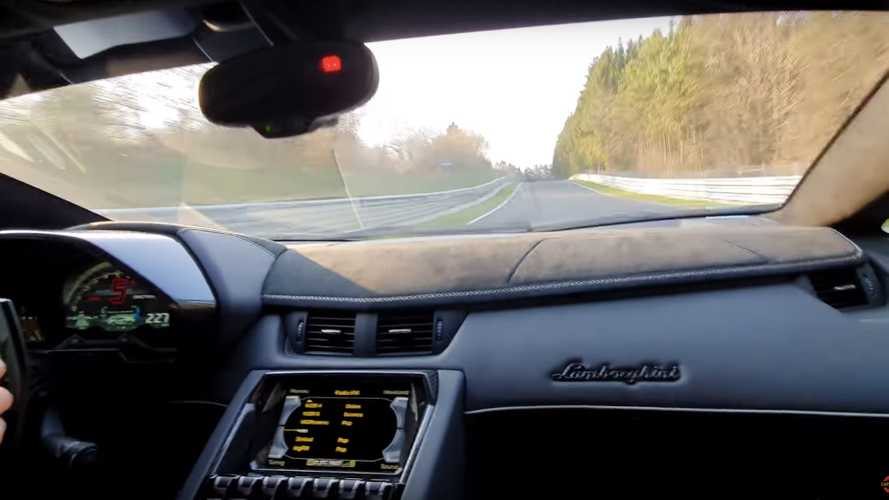Living Large: Breaking-In Aventador SVJ At The Nurburgring
