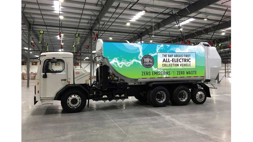 BYD Delivers First All-Electric Garbage Truck To Palo Alto
