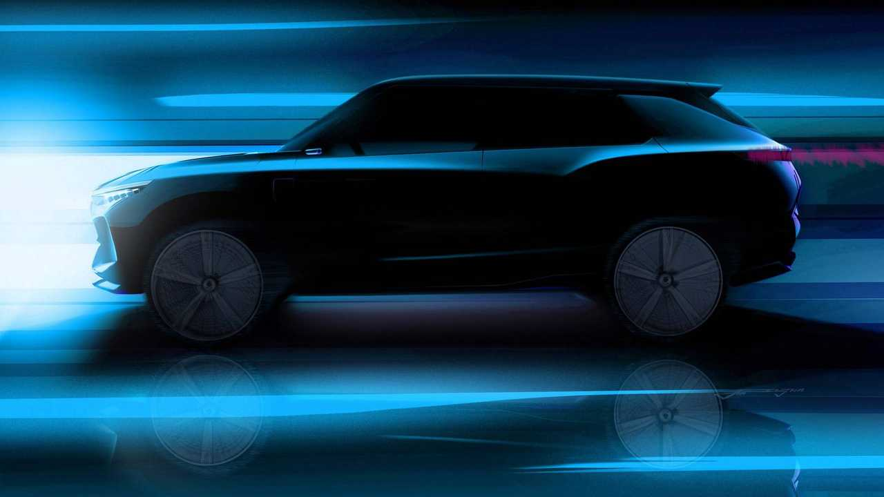 SsangYong e-SIV Concept Goes 280 Miles Per Charge