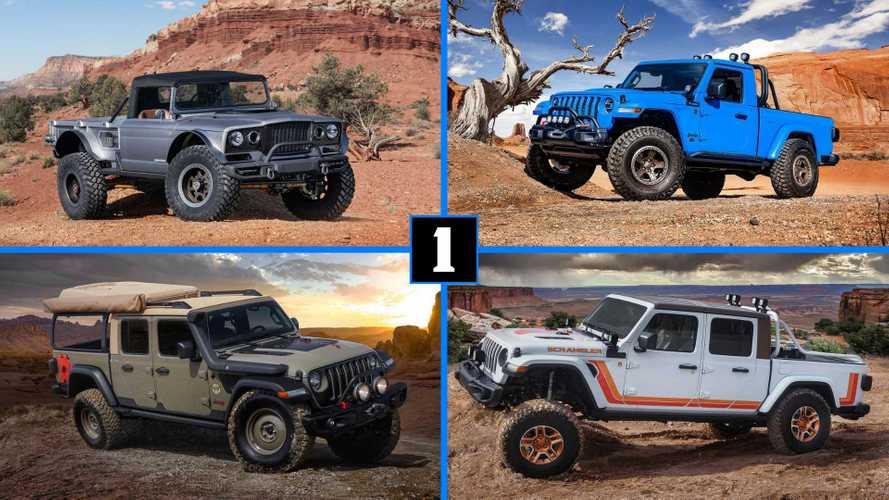 Jeep Easter Safari: 6 проектов на базе нового Gladiator