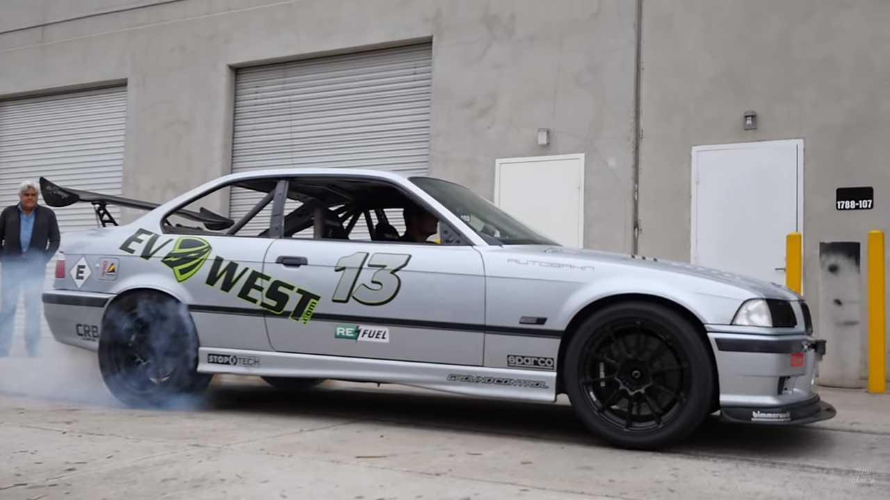 First Look At Tesla-Powered EV West BMW M3