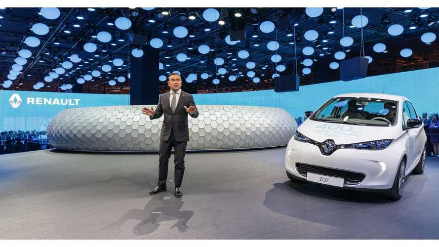 Carlos Ghosn At Paris Motor Show: Automakers Who Mocked Us Now Declare Electric Cars Are The Future