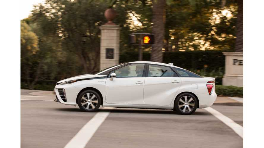 Car & Driver's Instrumented Test Of 2016 Toyota Mirai