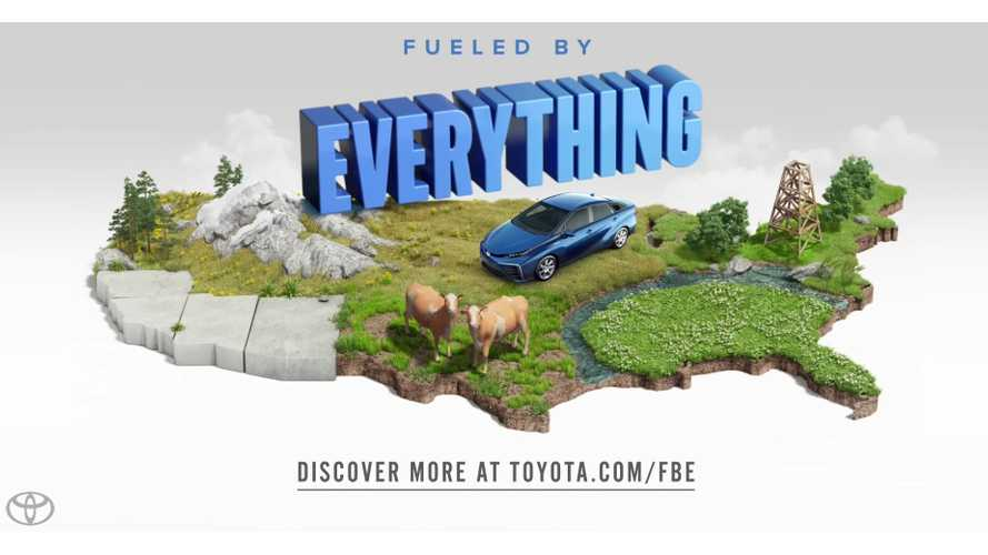 Toyota Mirai Advertisement - Fueled By Oil Creek? - Video
