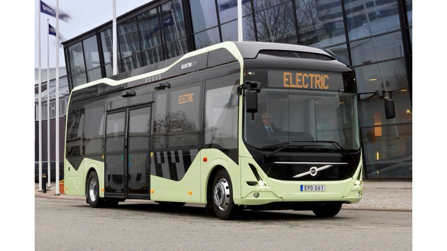 Volvo's Electric Bus Love Story - Video