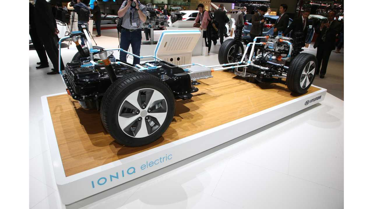 Hyundai Exec Thinks EV Battery Prices Will Stop Declining In 2020