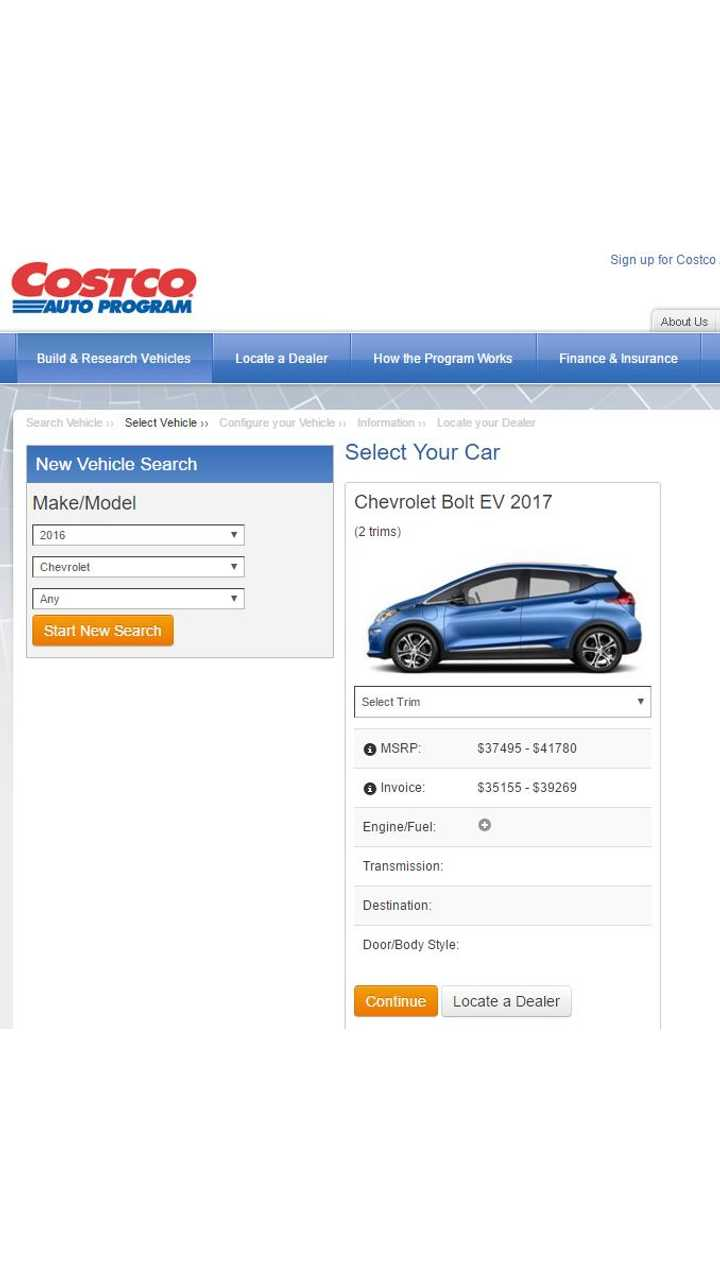 Chevrolet Bolt Configurator Goes Live - Build Your Own Now