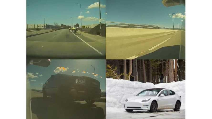 Tesla Model 3, Model S, & X Dashcam With Sentry Mode Updated