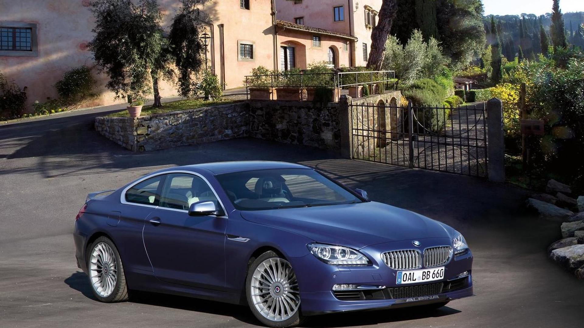 BMW Alpina B BiTurbo Coupe - Alpina bmw b6