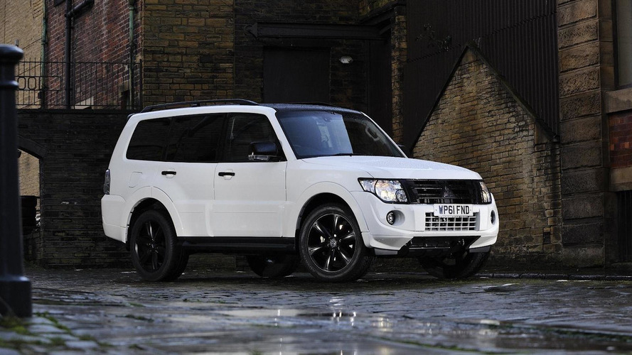 Mitsubishi Shogun Black announced for UK