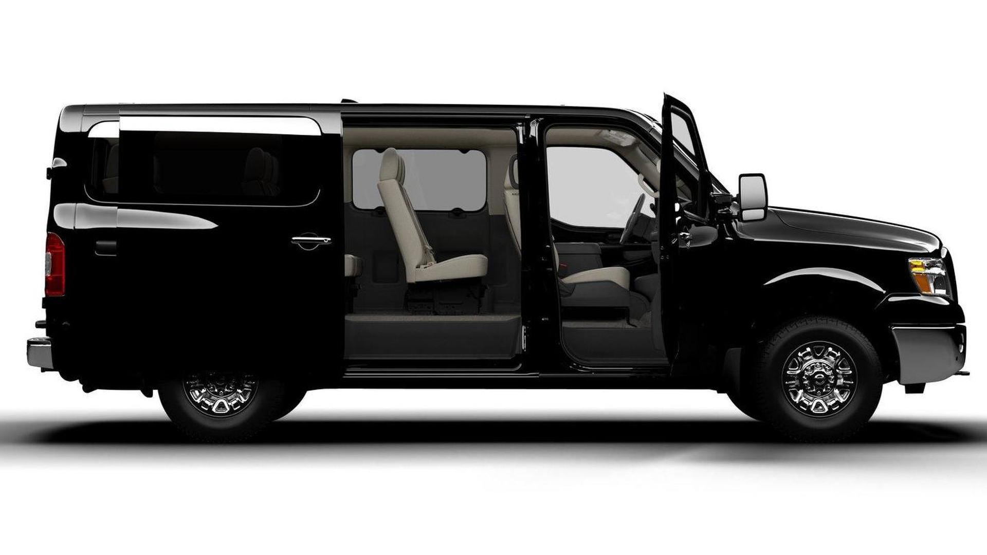 Nissan Passenger Van >> Nissan Announces All New 2012 Nv3500 Hd Passenger Van For North America