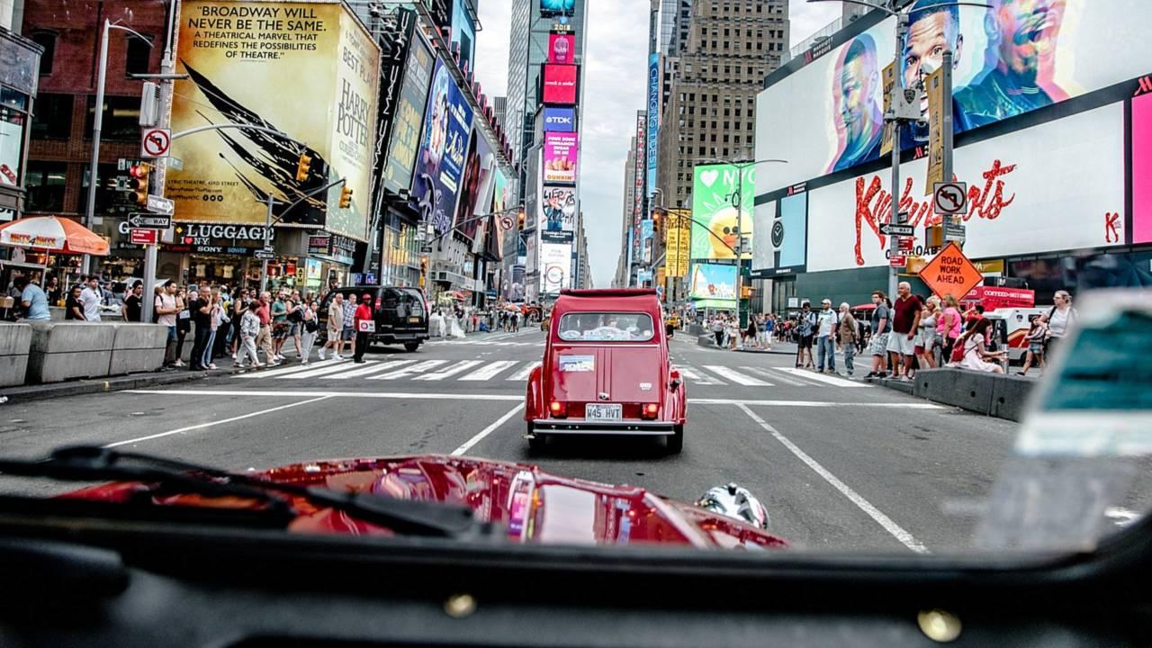 Citroen 2CV New York