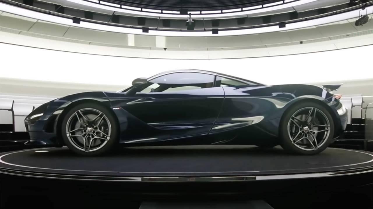 McLaren 720S Science Video
