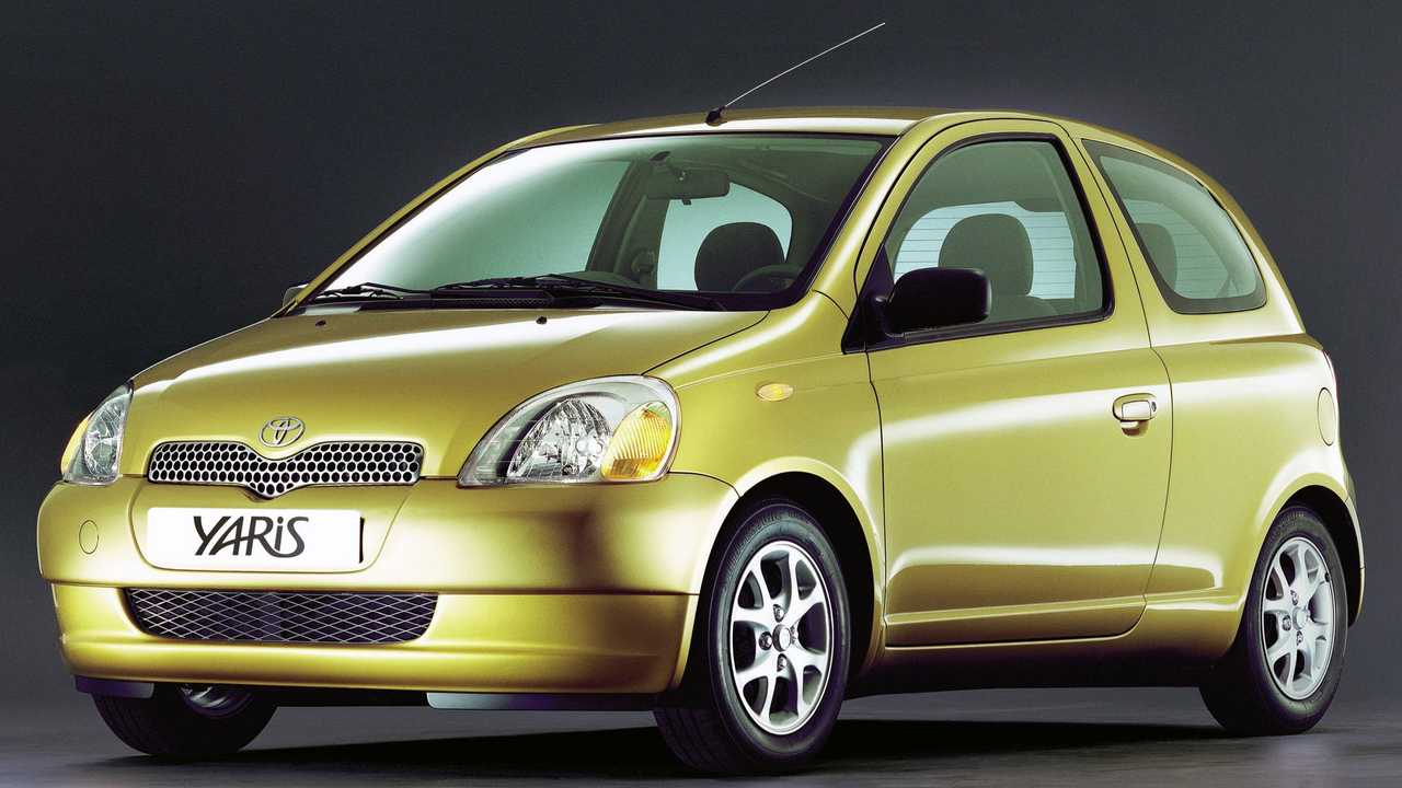 Toyota Yaris, le foto storiche