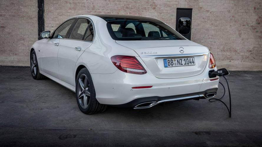 Mercedes E-Class diesel plug-in hybrid launched in UK