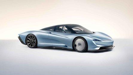 Az F1 trónörököseként prezentálta Speedtail névre keresztelt modelljét a McLaren