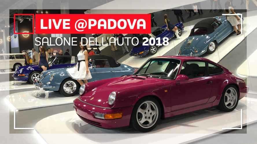 Porsche settant'anni di storia ad Auto e Moto d'Epoca 2018
