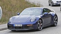 2019 Porsche 911 almost undisguised spy photos