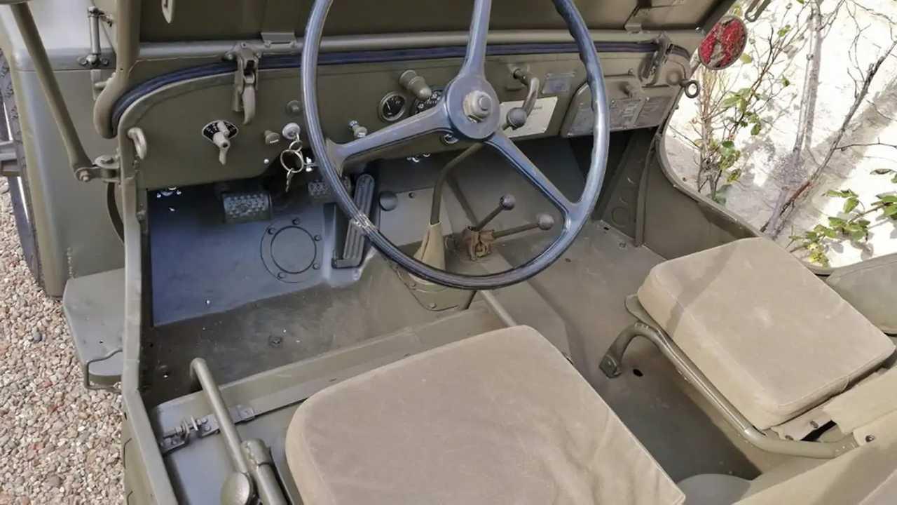 Jeep Willys de Steve McQueen en venta