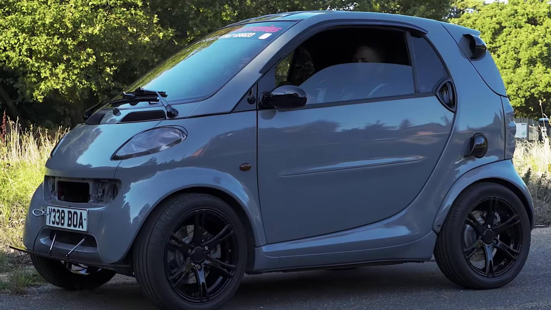 Smart Fortwo Gets 190-HP Bike Engine, Adds Brawn To Its Brains