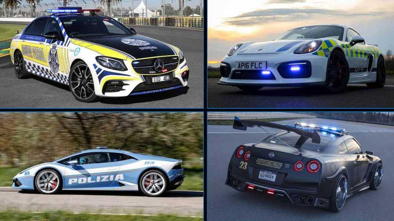 Diapo voitures de police