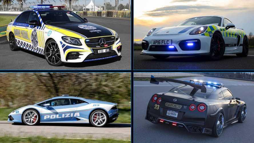 DIAPORAMA - 15 voitures de police insolites