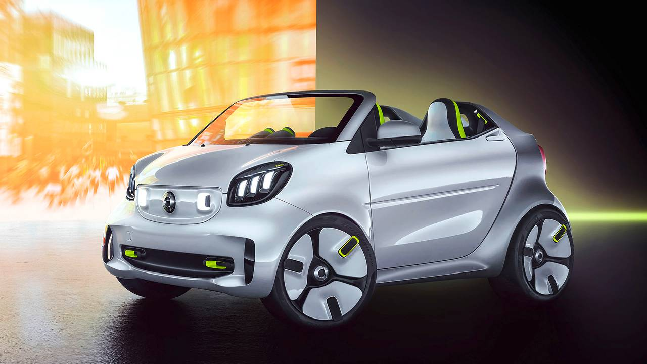 smart forease Showcar