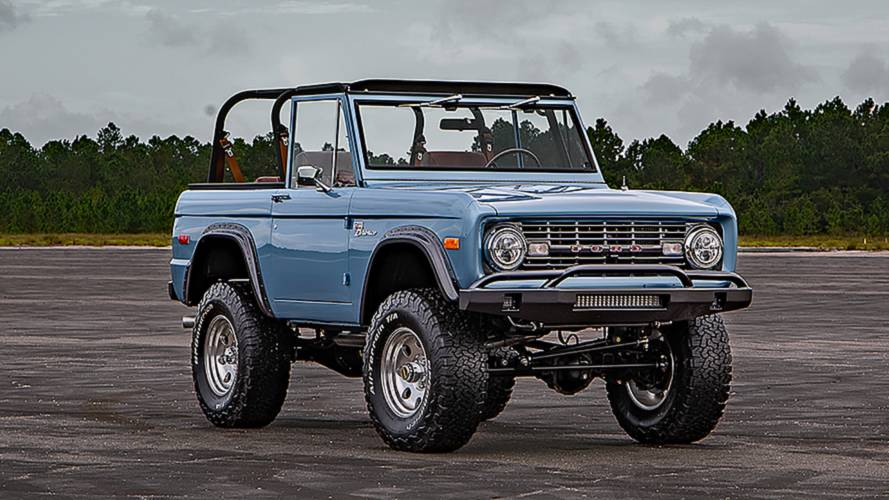 This 1973 Ford Bronco Went Through A 1,500-Hour Restomod