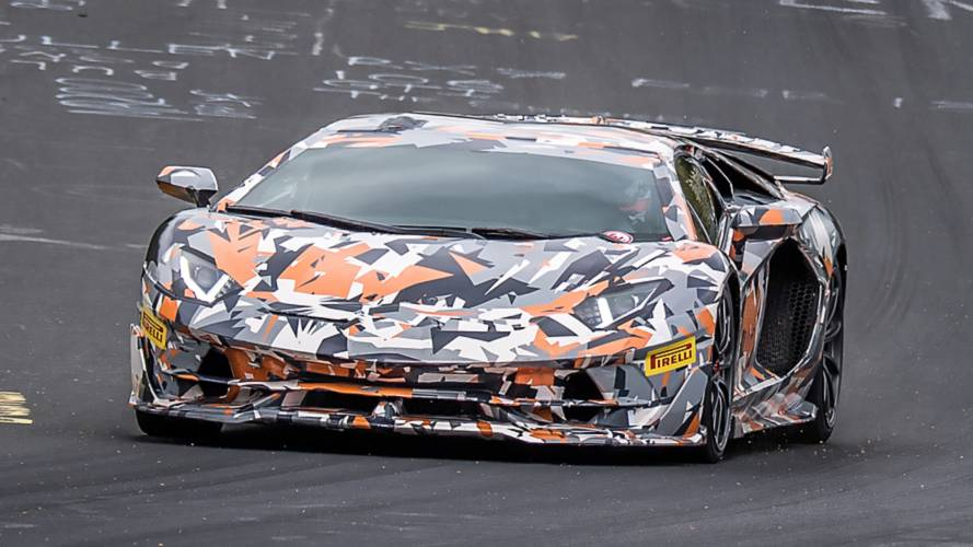 Lamborghini Aventador SVJ Makes 760 HP From Its V12 Engine