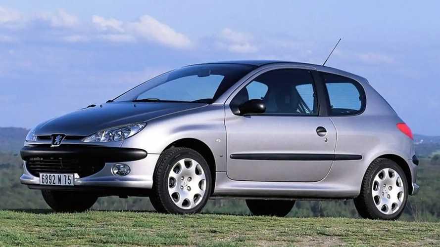 Peugeot 206, foto storiche