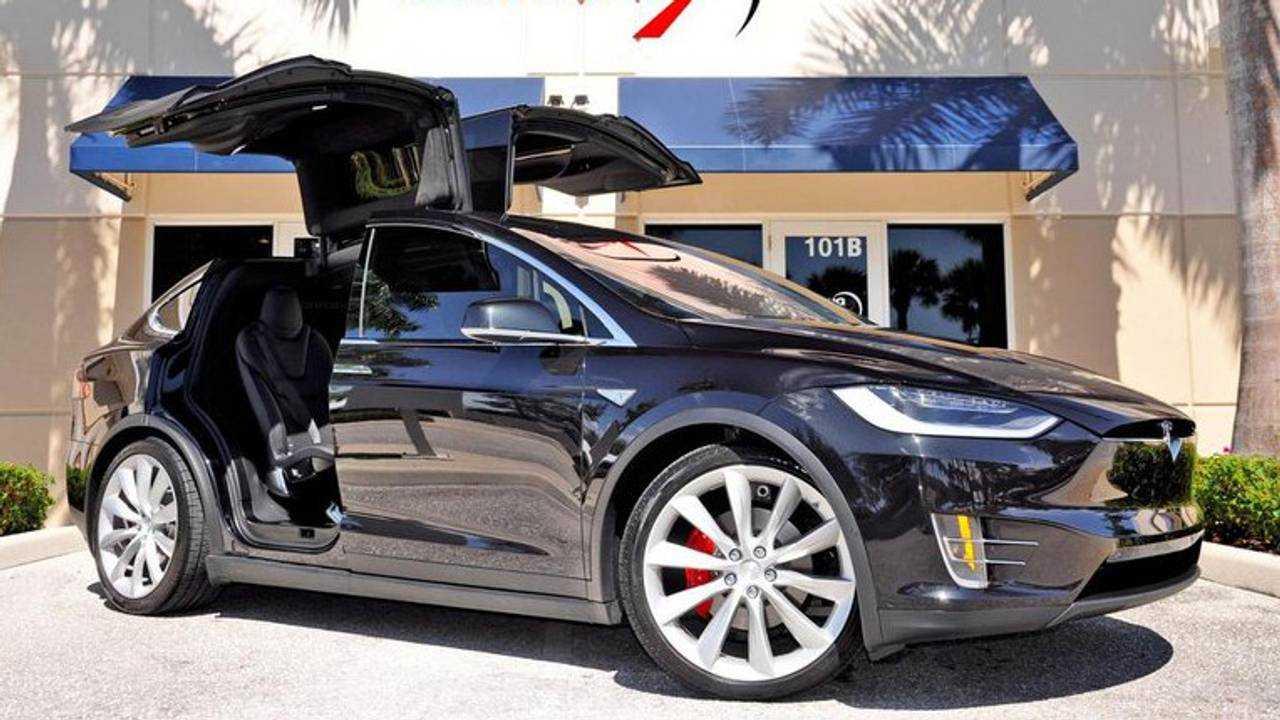 2016 Tesla Model X - $117,000