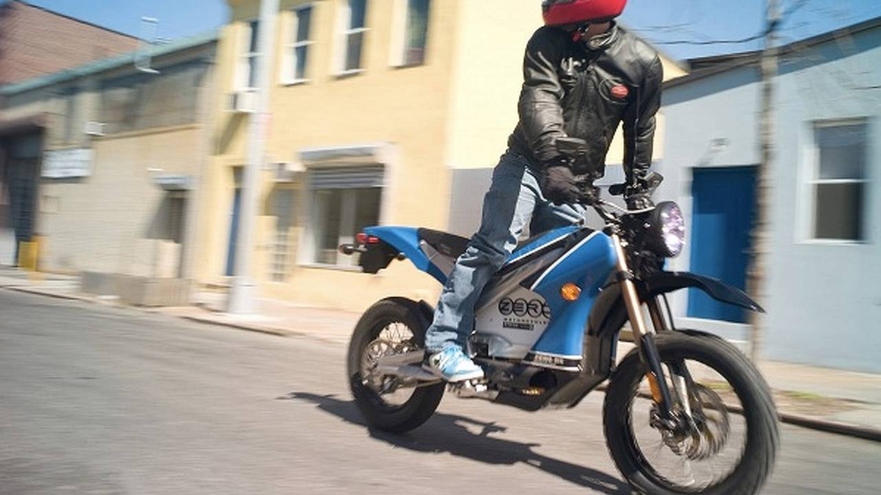 Zero's first police bike