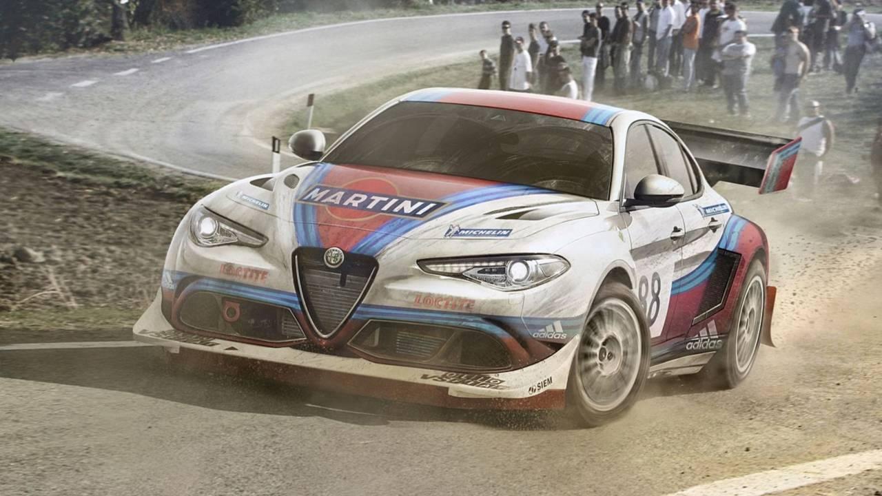 Alfa Giulia Quadrifloglio Martini Racing