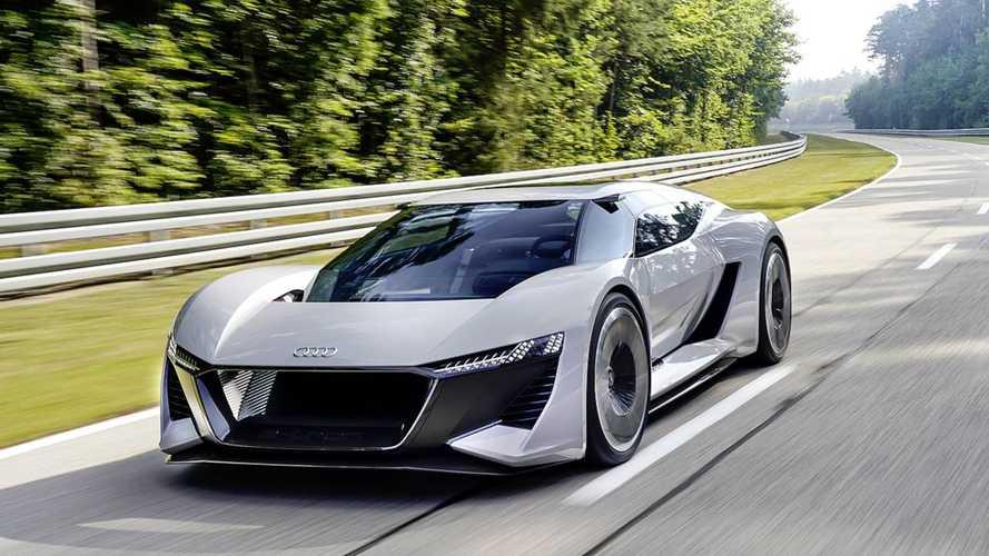 764 lóerő is kifacsarható az Audi PB18 e-tron tanulmányból
