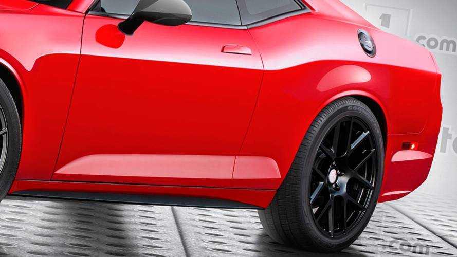 2021 Dodge Challenger rendering | Motor1.com Photos