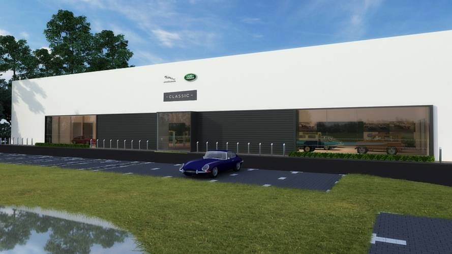 Jaguar Land Rover to build classic car facility in USA