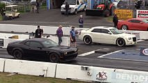 Hellcat Widebody Versus Mustang And 300 SRT8