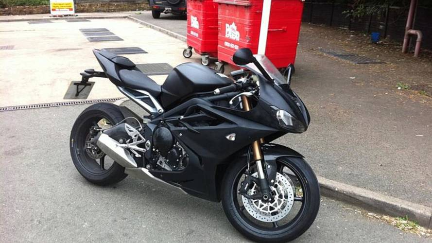 This is the 2013 Triumph Daytona 675