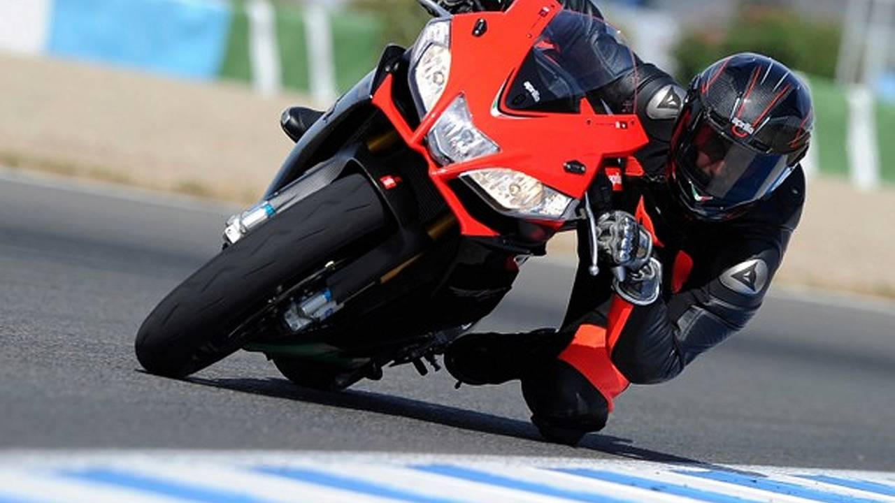A carbon-bodied RSV4 Factory and Aprilia Performance Ride Control explained