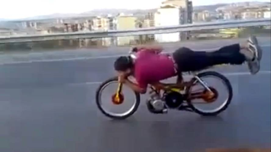 It's Moroccan moped superman