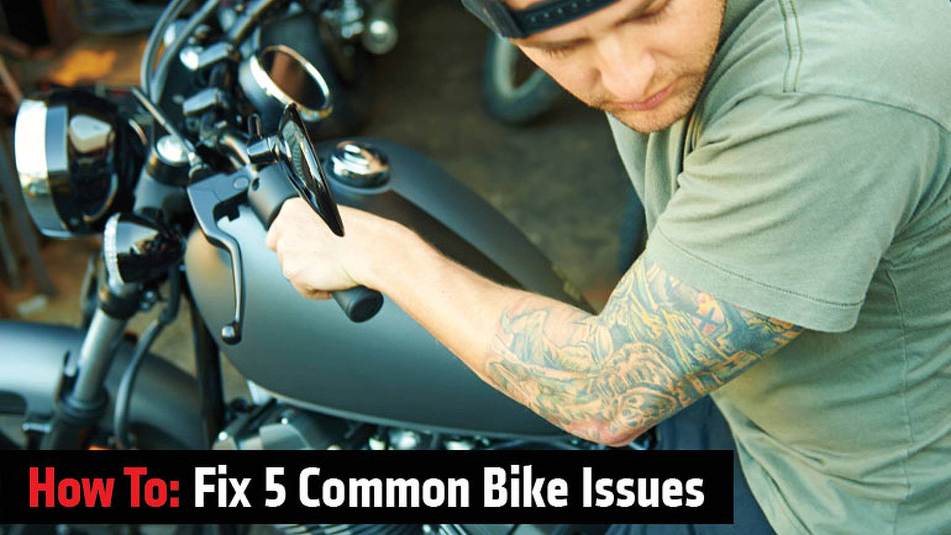 How To Fix 5 Common Issues On Older Bikes 1976 1000 Cc Honda Goldwing Wiring Diagram