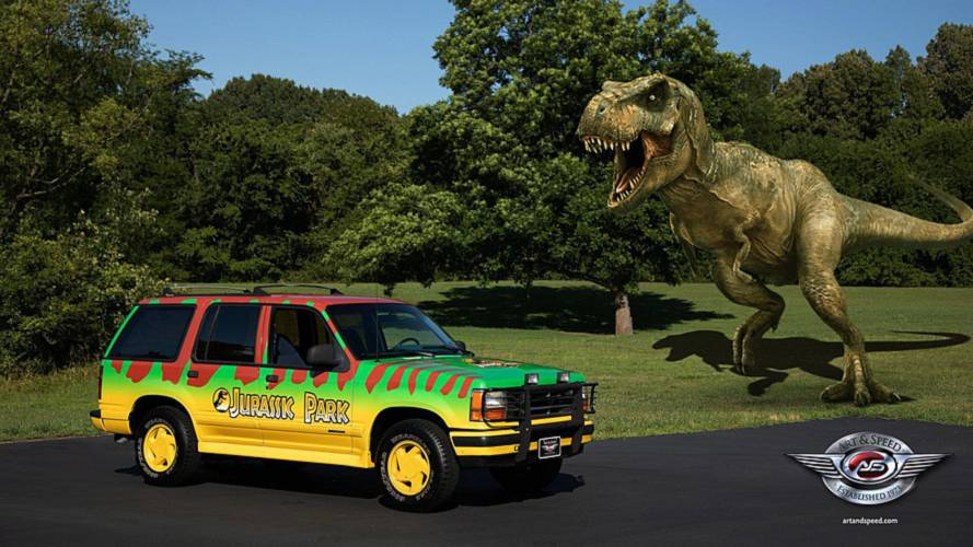 1993 Ford Explorer Jurassic Park Replica Can Be Yours