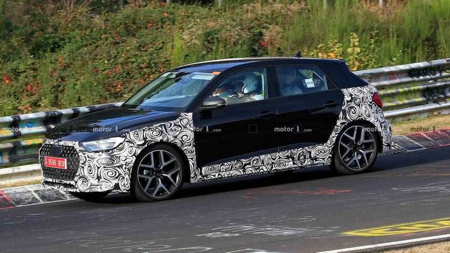 Audi A1 Allroad Spied With Rugged Cues On The 'Ring