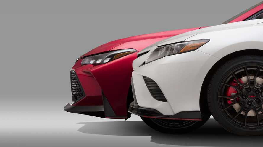 Toyota Teases High-Performance TRD Avalon And Camry For L.A.