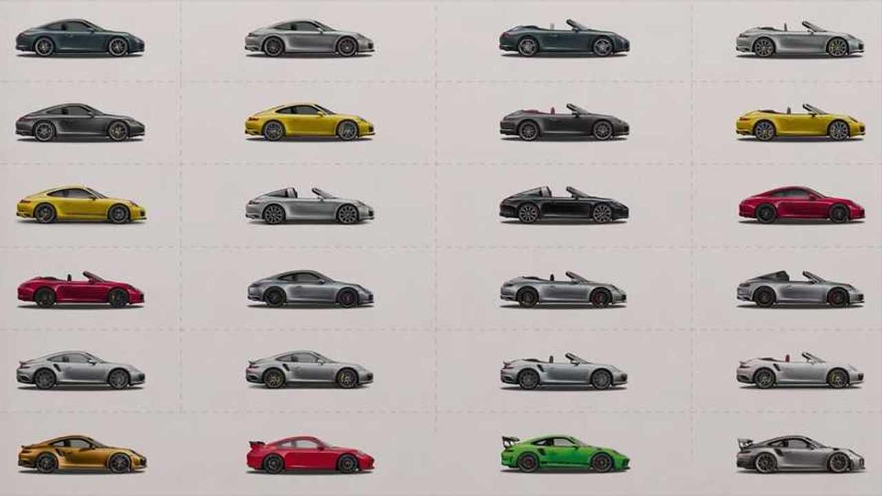 Porsche 911, tutte le varianti