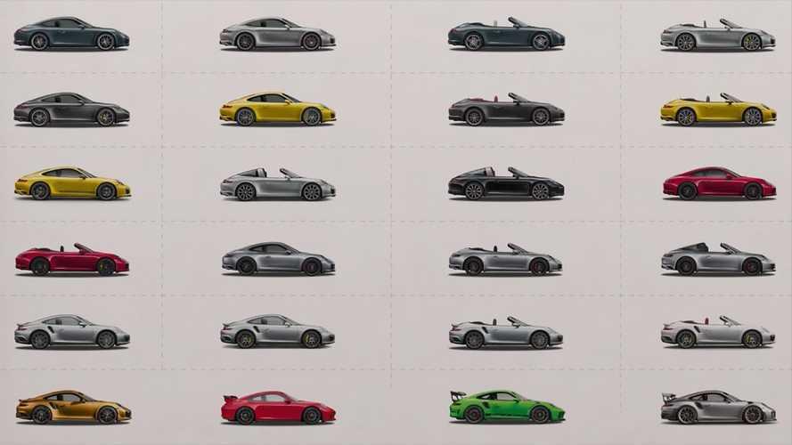 Porsche 911, un video ne racconta tutte le versioni