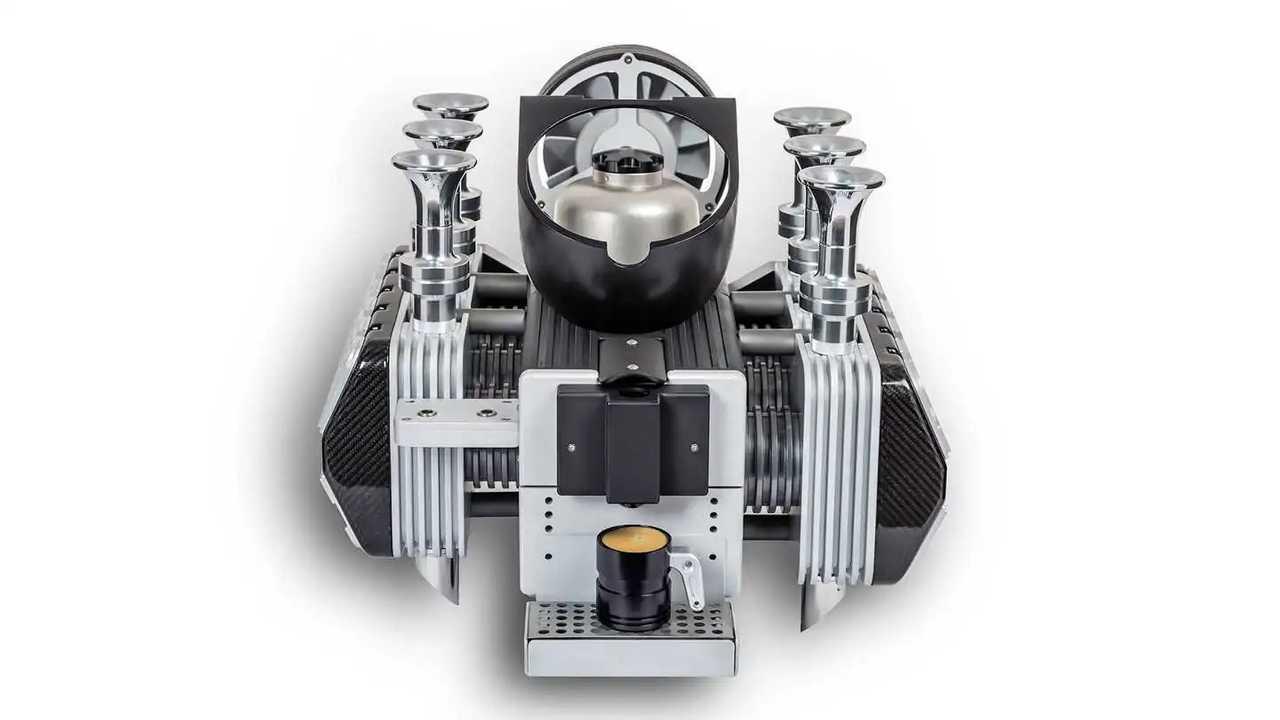 Super Veloce Porsche Flat Six Espresso Machine