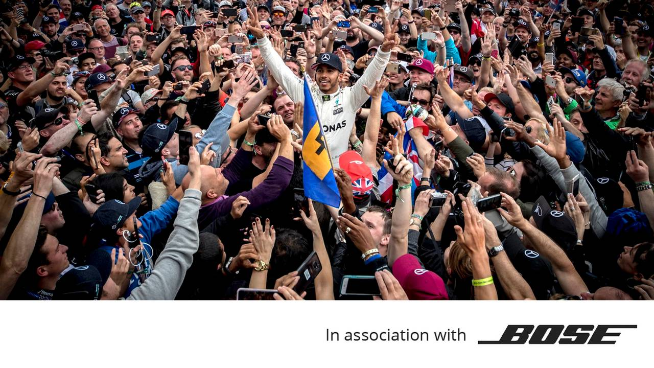 Bose, Lewis Hamilton British GP 2017