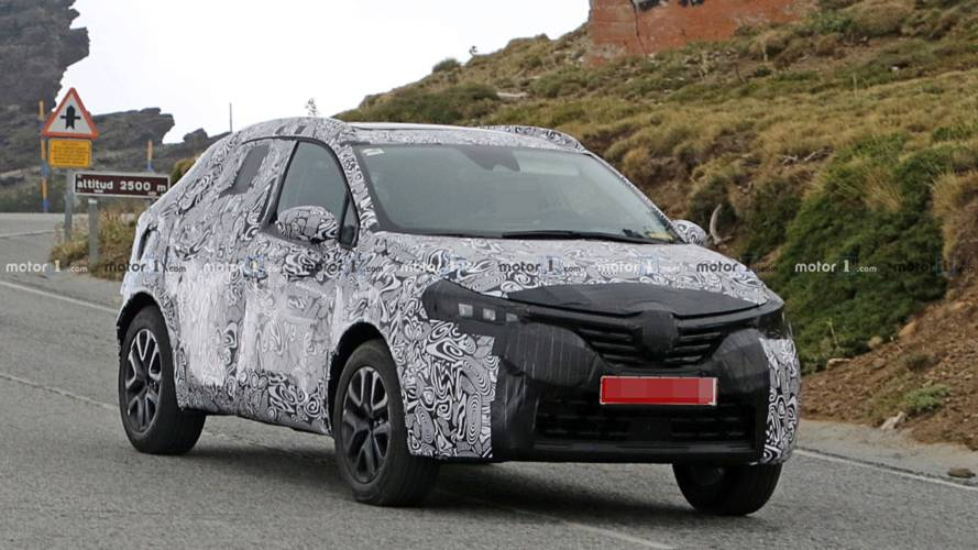 Renault Clio compact SUV spied for first time