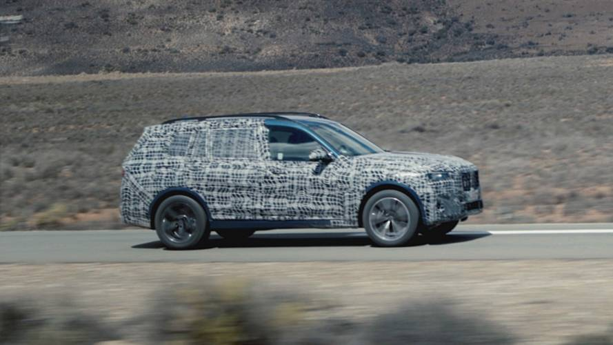 Extrém körülmények között zajlik a BMW X7 tesztelése